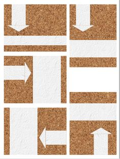 FREE Cork board printables for Project Life -minimal journaling spots.