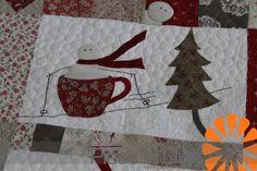 winter quilt blocks | Merry Merry Snowmen ~ A Winter Quilt