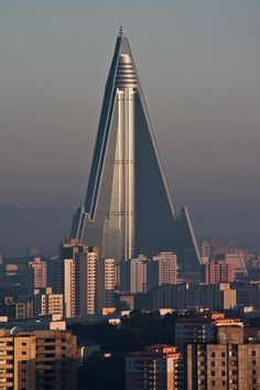 Do you like new (old) Ryugyong hotel building now it's finished after 30 years of construction in the capital of North Korea?