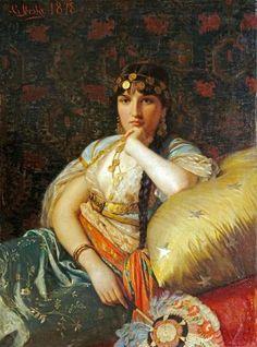 Giovanni Costa - An Oriental Beauty