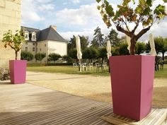 Fiber cement planter IPM by IMAGE'IN by Création CJCJ | design Fabien Joly