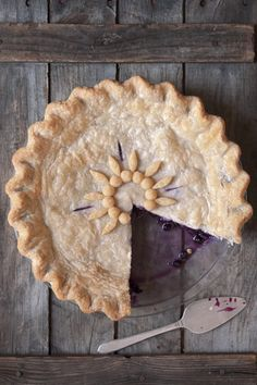 This wild-blueberry pie is so good it's a regular prizewinner at contests around the country.  -- Photo Credit: Stacey Cramp