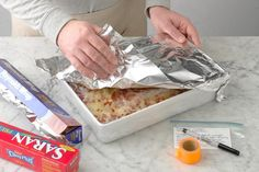 How to Freeze Lasagna the Right Way How To Freeze Lasagna, Brunch Casserole, Casserole Dishes, Beef Recipes, Cooking Recipes, Cooking Tips, Recipes, Lasagna