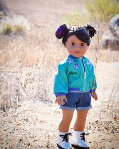 Love the space buns. Great hair do for Luciana Vega Ropa American Girl, American Line, My American Girl Doll, American Girl Clothes, Girl Doll Clothes, Ag Dolls, Girl Dolls, Ag Doll Hairstyles, American Girl Doll Pictures