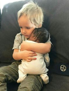 The love of a child is a beautiful thing..