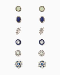 Blossoming Sparkle Earring Set | Charming Charlie