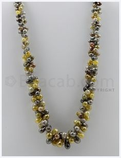 "#""Fancy Diamond Drops"" - 1 Line - 433.91 carats (DiaDrp1003)"