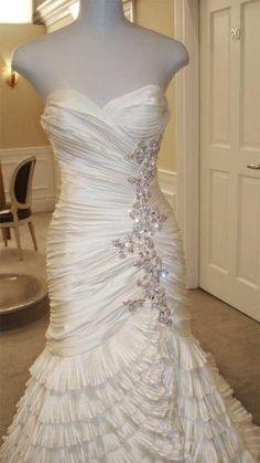 Consultant Sarah's Dress - SYTTD « Weddingbee Boards--pnina tornai...amazing