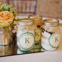 Cake in a Jar Wedding Favor