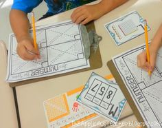 Great hands on ideas for building number sense!