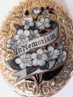 Cemeteries Ghosts Graveyards Spirits:  Antique Victorian 9ct 9k Gold BF Enamel #Mourning Locket. Mourning Dress, Mourning Ring, Mourning Jewelry, Memento Mori, La Danse Macabre, Antique Jewelry, Vintage Jewelry, Lovers Eyes, Hair Jewelry