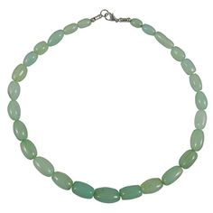 Green Onyx Beaded Necklace ** You can find more details by visiting the image link.