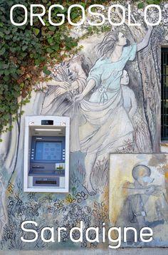 Le village d'Orgosolo présente une multitude de murs peints, contestataires ... une belle découverte sur l'île de la Sardaigne !