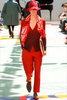 Burberry Prorsum - Men Fashion Spring Summer 2015 - Shows - Vogue.it
