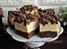 SERNIK NA CIEMNYM SPODZIE + FILMIK - Kulinarne Fantazje Marioli Food Cakes, Tiramisu, Cake Recipes, Cheesecake, Cooking Recipes, Ethnic Recipes, Youtube, Blog, Pastries Recipes