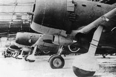 Japanese Ki-84 fighters in a factory