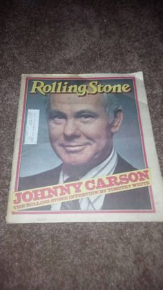 Check out this item in my Etsy shop https://www.etsy.com/listing/212727386/johnny-carson-rolling-stone-1979