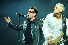 U2 live in Turin, Italy