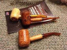 Blog by Greg Wolford Recently I'd read a comment someplace about using wood filler to repair cracks and leaks in corn cob pipes. Being an avid fan and user of Missouri Meerschaum pipes, and needing...