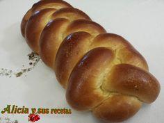 Alicia y sus recetas: TRENZA BRIOCHE http://aliciaysusrecetas.blogspot.com/2017/01/trenza-brioche.html