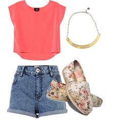 15 Cute Summer Polyvore Outfits - Always in Trend | Always in Trend
