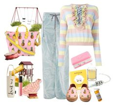 """""""Survive at the playground"""" by juliabachmann ❤ liked on Polyvore featuring Genny, Boutique Moschino, Bare Escentuals, Bug, Dolce&Gabbana, Yankee Candle, Kate Spade and Betsey Johnson"""