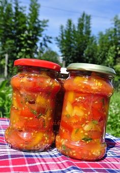 Hungarian Cuisine, Larder, Pickles, Salsa, Mason Jars, Food And Drink, Canning, Meat, Drinks