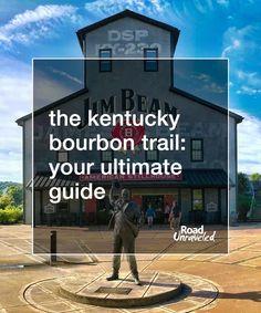 Bourbon trail driving map kentucky bourbon trail map for Ky bourbon trail craft tour map