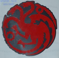 Colored (layered) Game of Thrones Vinyl Decals Sigils