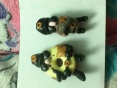 This is the donut I made out of polymer clay this is from wreck it  Ralph