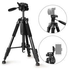 ESDDI 55 Travel Portable Camera Tripod Professional Digital SLR Camera Tripod
