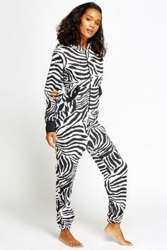 Zebra Print Onsie
