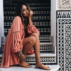 Oversized dress and Soludos
