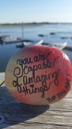 You are capable #thekindnessrocksproject