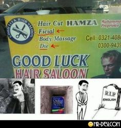 Die your hair. Love it. Hahahaha only a desi could write that on the box.