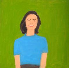 Alex Katz, 'Ada,' 1959, Colby College Museum of Art