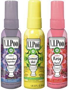 Air Wick V.I.POO Pre-Poo Toilet Spray, Variety Pack, 5.55 Ounce (Pack of 3) #AirWick