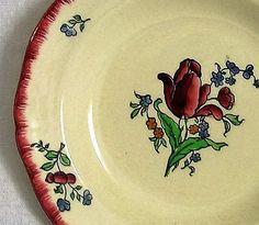 Assiette de collection ancienne assiette par VintageSyell sur Etsy