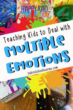 Teach kids to handle two emotions at once with these emotions activities for kids!
