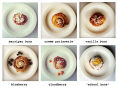 Once you are bored with cinnamon buns, where do you go?  Vanilla is where it's at. This week, we decided to make a few different versions using the same base dough and basic filling.  There are as ...