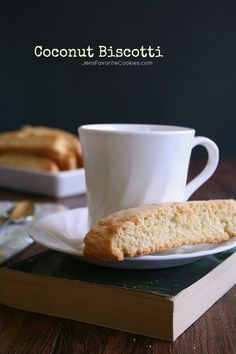 Coconut Biscotti from Jens Favorite Cookies