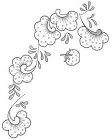 AMARNA IMAGENS: RISCOS PARA BORDADOS E OUTROS TRABALHOS MANUAIS Hand Embroidery Stitches, Crewel Embroidery, Hand Embroidery Designs, Embroidery Patterns, Magam Work Designs, Ornament Drawing, Felt Crafts Diy, Flower Sketches, Acrylic Painting Techniques