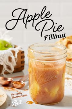 apple pie Want the taste of home all year round? Try Balls Apple Pie filling thats full of all the fragrant fall flavors like cinnamon and nutmeg. Ball Canning Recipe, Canning Recipes, Gourmet Recipes, Canning 101, Jar Recipes, Preserving Apples, Canning Apples, Preserving Food, Freezing Apple Pie