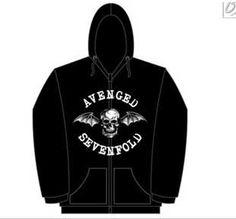 Avenged Sevenfold Classic Deathbat Hoodie