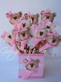 These would make super cute party favors for a baby girls shower