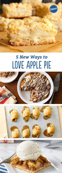 5 New Ways to Love Apple Pie: Who doesn't love apple pie? Step it up with these new twists on the beloved classic.