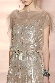 Jenny Packham - Spring, 2011  I will one day own this dress.