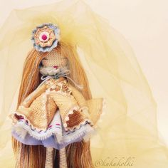 Goval′ Anastasia Moscow-Omsk @kukukolki. AMigurumi doll with beautiful detailed outfit.(Inspiration).