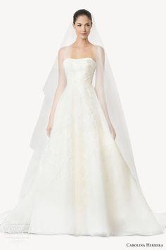 Carolina Herrera Bridal Fall 2015 Wedding Dresses | Wedding Inspirasi