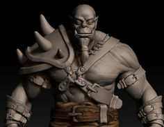 "Check out new work on my @Behance portfolio: ""Model of an orc"" http://be.net/gallery/47283533/Model-of-an-orc"